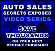 Auto Sales Secrets Exposed Video Series
